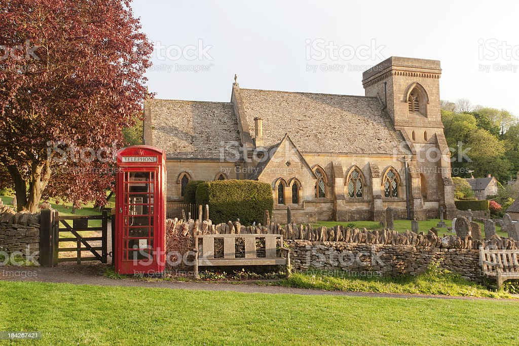 'Church in Snowshill, Cotswald, United Kingdom' stock photo