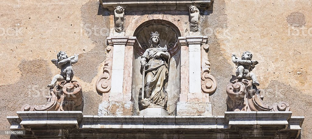 Chiesa di Taormina foto stock royalty-free