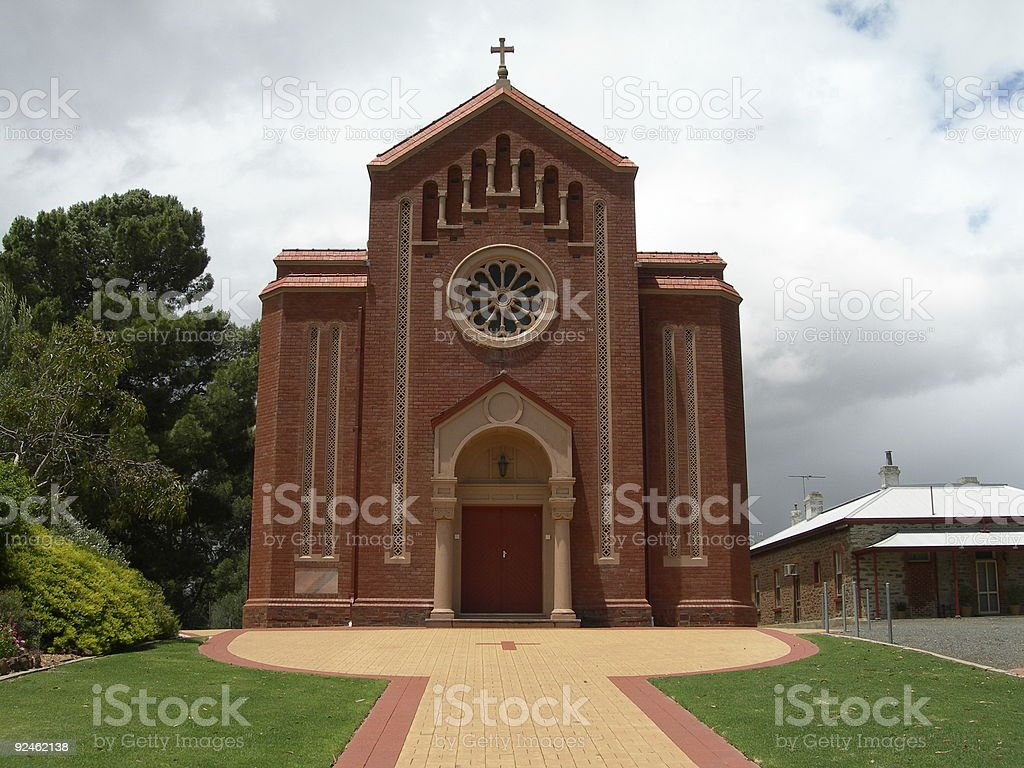 Church in the country royalty-free stock photo
