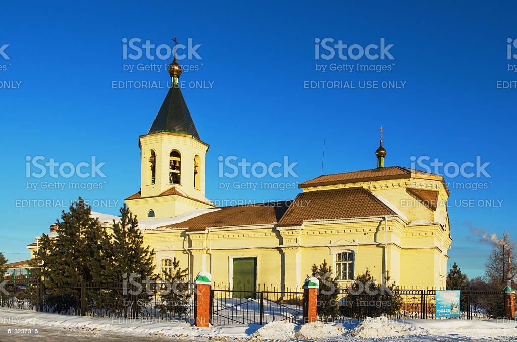 Church in the name of Saint Nicholas stock photo
