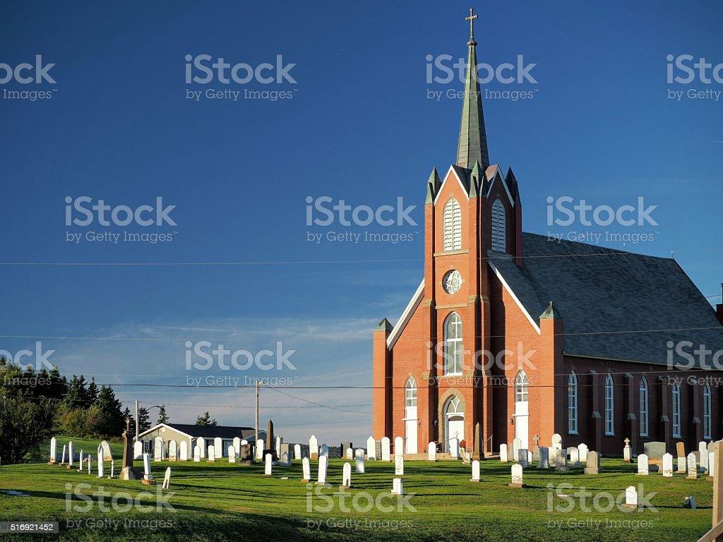 Church in the Wild stock photo