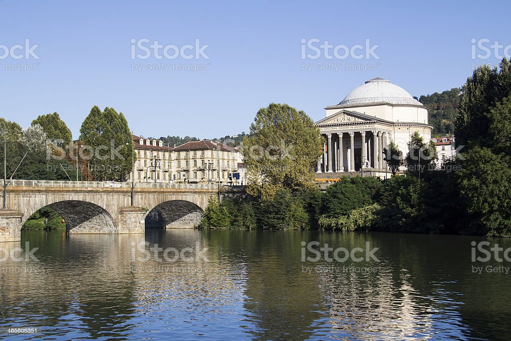 Church in Torino royalty-free stock photo
