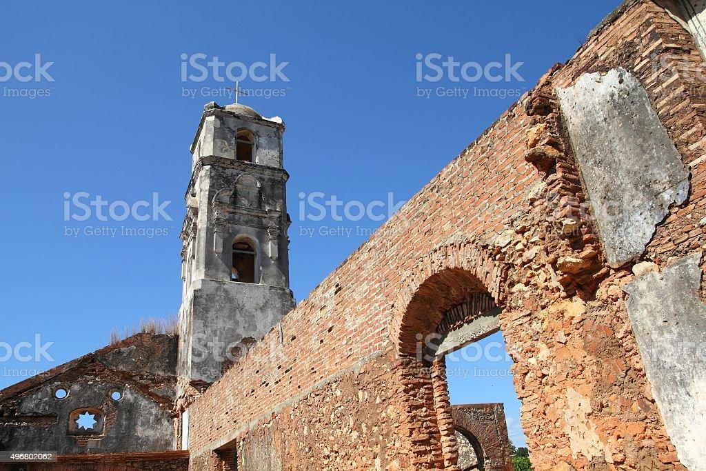 Church in Trinidad, Cuba stock photo