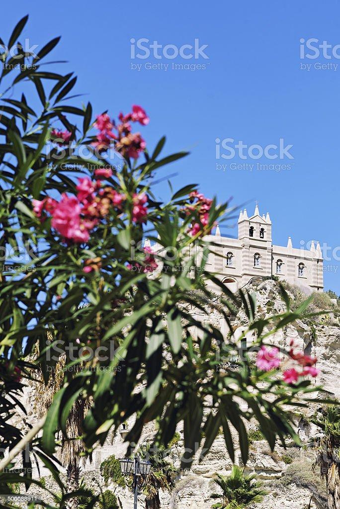 Church in Tropea, Italy royalty-free stock photo