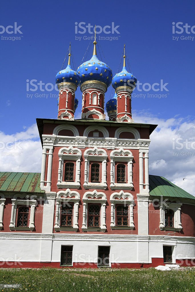 Church in Uglich royalty-free stock photo