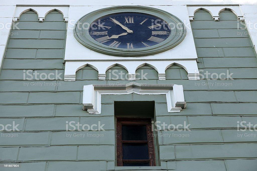 Church in Valparaiso royalty-free stock photo