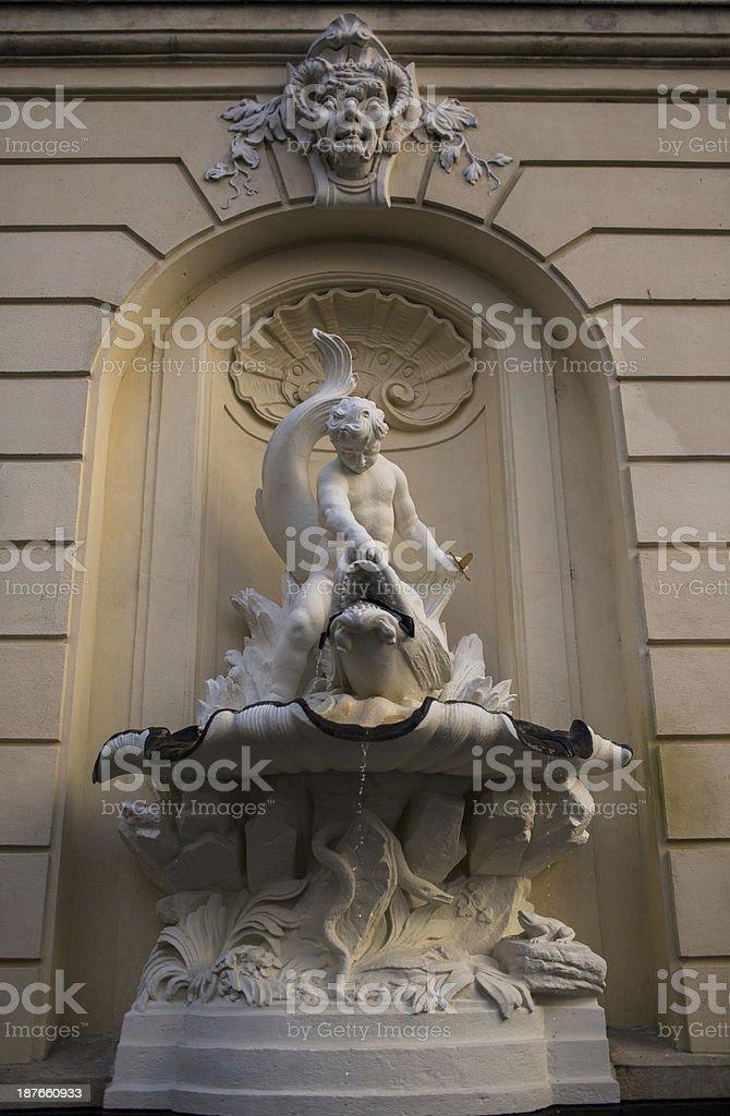 Church in Vienna royalty-free stock photo