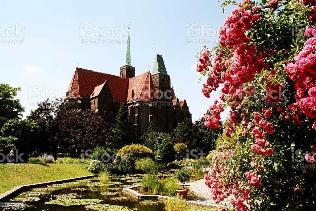 Chiesa di Breslavia foto stock royalty-free