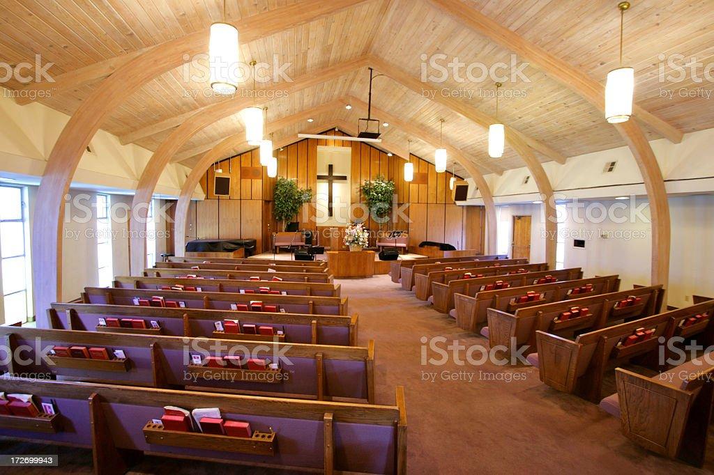 Church Interior royalty-free stock photo