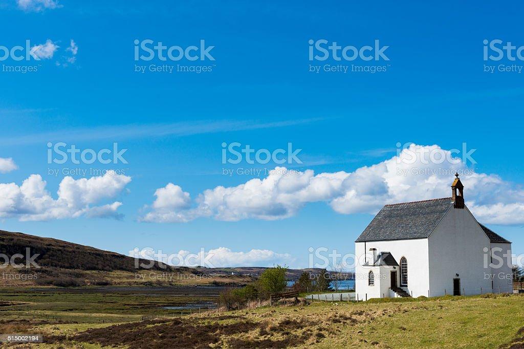 Church Kensaleyre stock photo