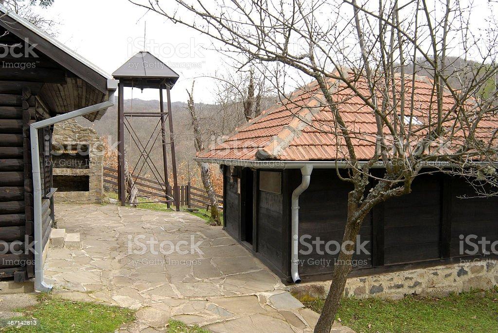 Church Lazarica, Prolom Spa, Mountain Radan, Serbia royalty-free stock photo