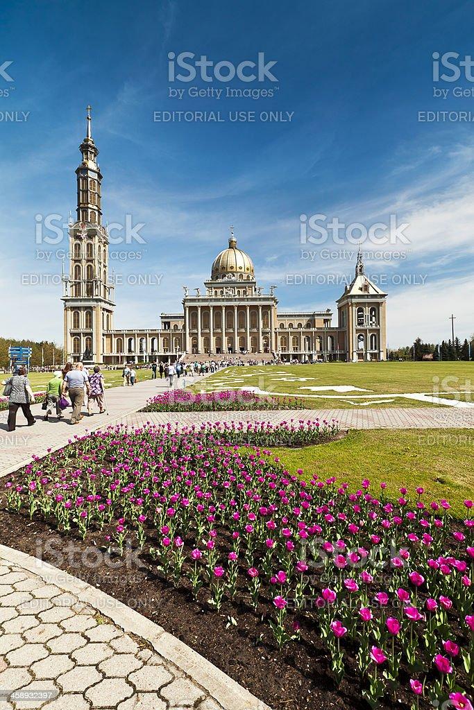 Church, Licheń, Poland royalty-free stock photo