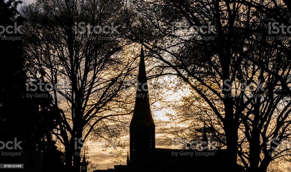 Church Lith stock photo