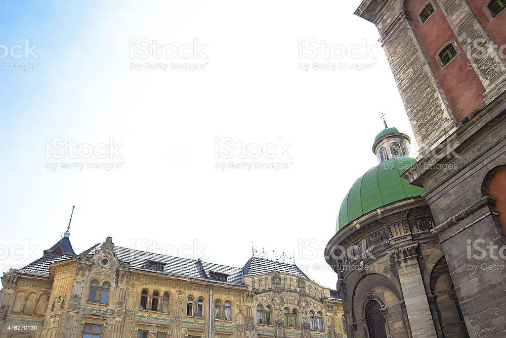 Church , Lviv, Ukraine royalty-free stock photo