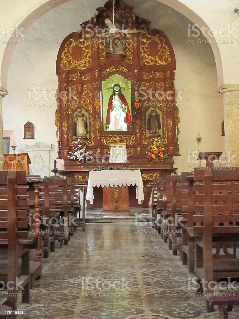 Church, Merida Mexico royalty-free stock photo