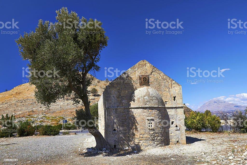 Church of Agios Georgios stock photo