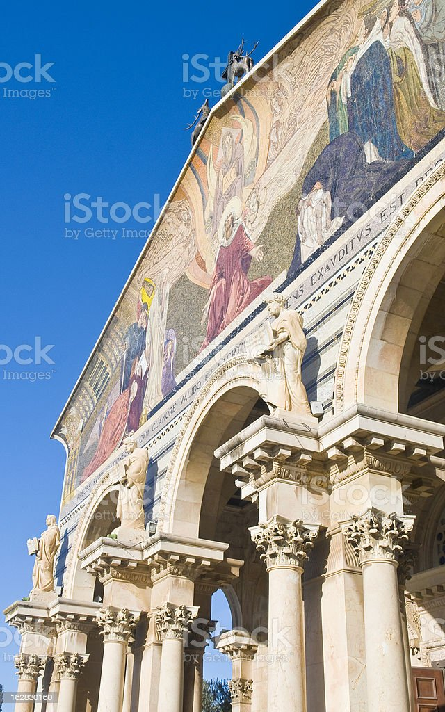 Church of all nations royalty-free stock photo