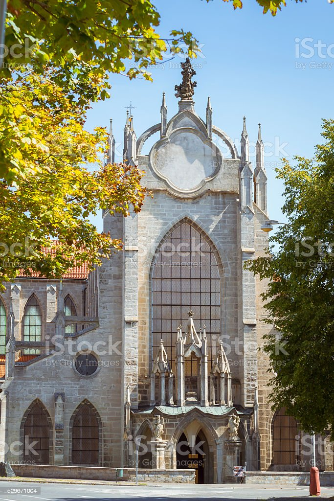 Church Of Assumption Of Our Lady And Saint John Baptist stock photo