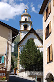 Church of Bel Taimpel - Celerina Switzerland