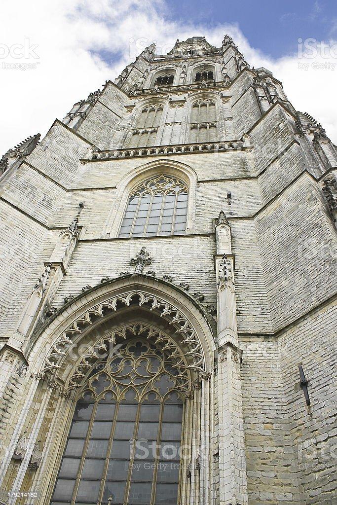 Church of Breda, Netherlands royalty-free stock photo