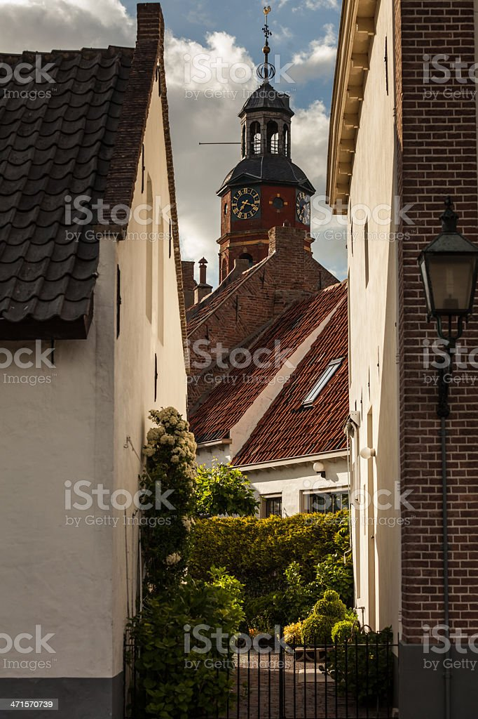 Church of Buren, The Netherlands royalty-free stock photo