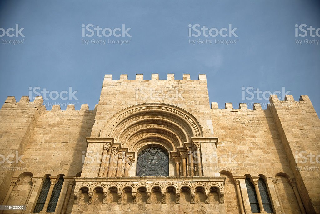 Church of Coimbra royalty-free stock photo