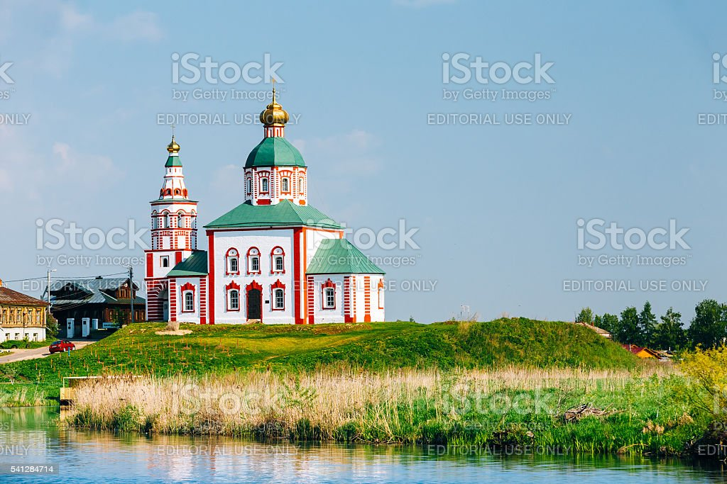 Church Of Elijah The Prophet Or Elias Church , Suzdal, Russia. stock photo