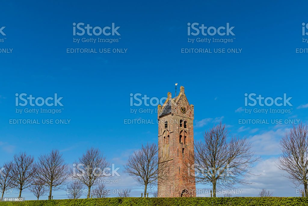 Church of Firdgum stock photo