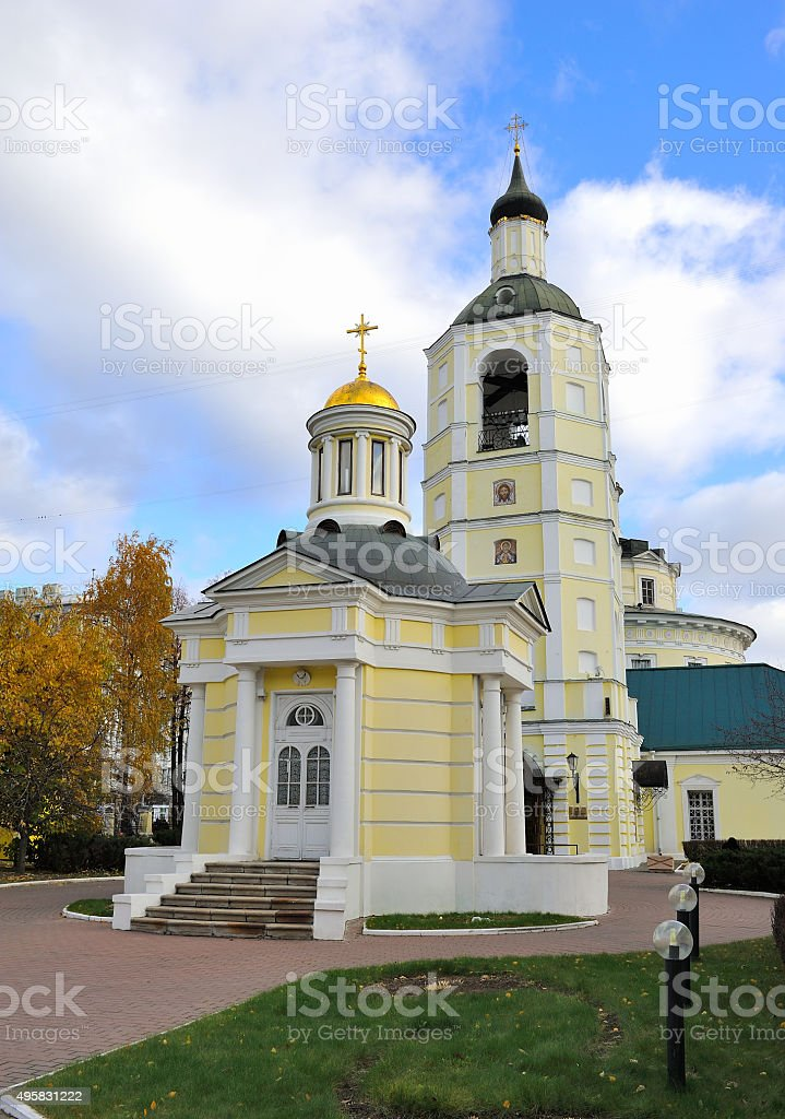 Church of holy hierarch Philip, Metropolitan of Moscow's stock photo