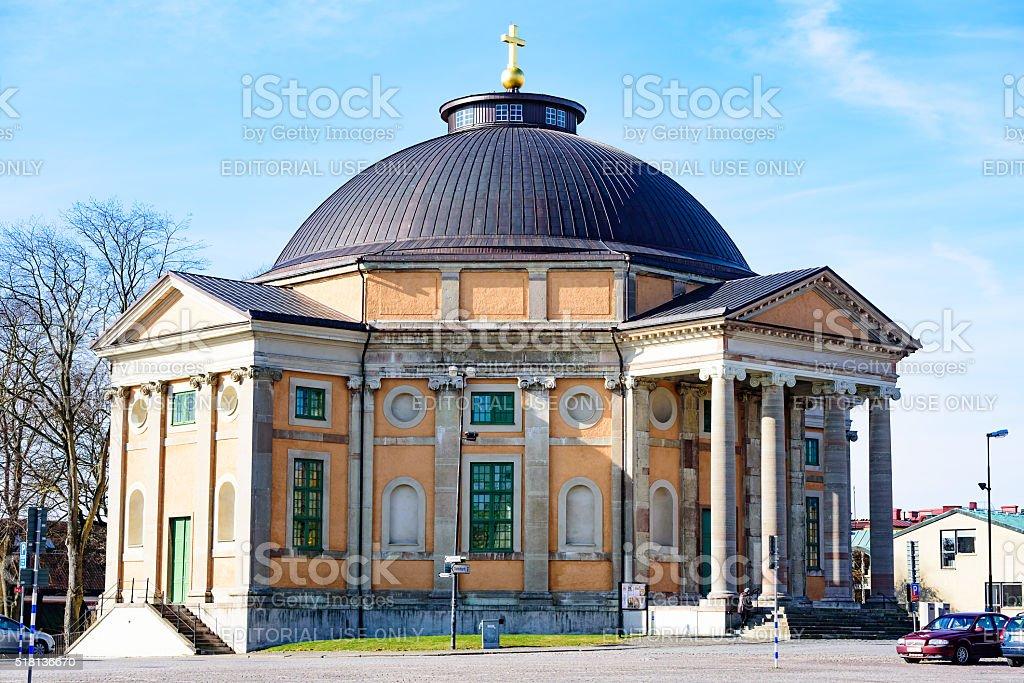 Church of Holy Trinity stock photo