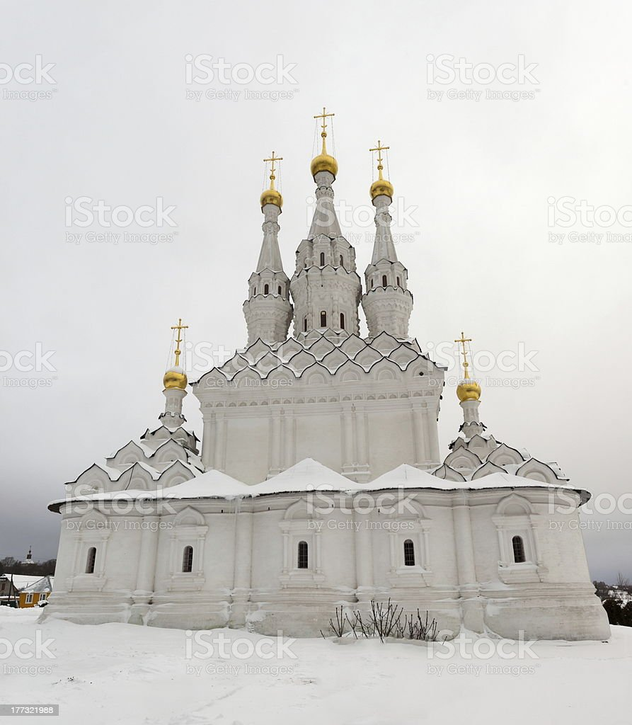 Church of Icon ofthe Virgin Hodegetria. Vyazma. Russia. royalty-free stock photo