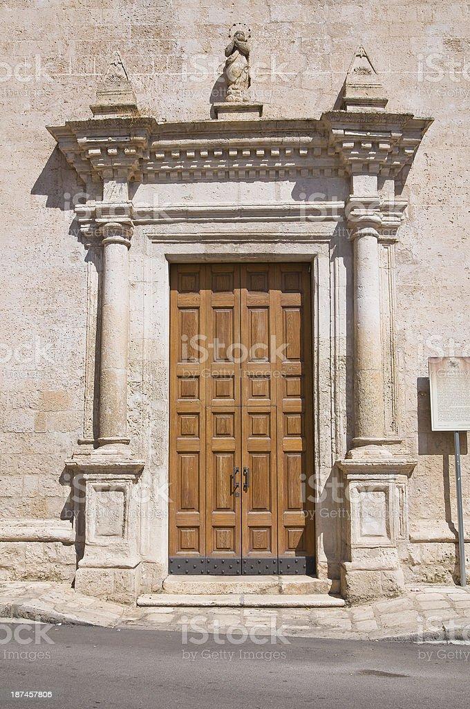Church of Immacolata. Manduria. Puglia. Italy. stock photo