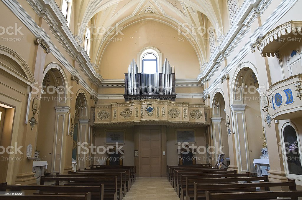 Church of Immacolata. Mesagne. Puglia. Italy. royalty-free stock photo