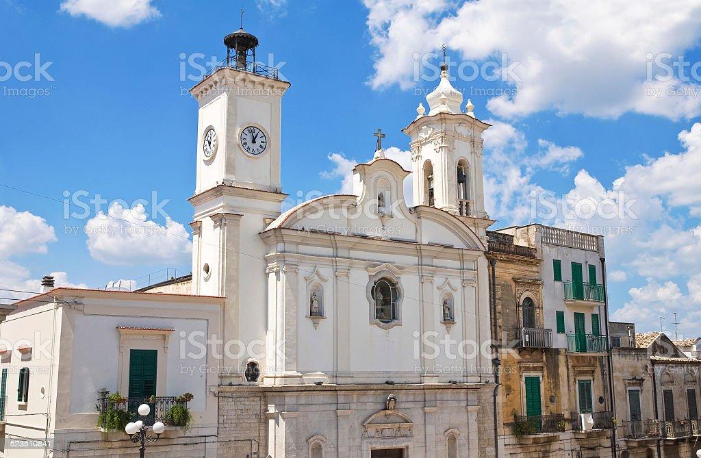 Church of Immacolata. Minervino Murge. Puglia. Italy. stock photo
