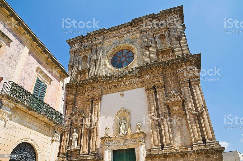 Church of Immacolata. Nardo. Puglia. Italy. stock photo