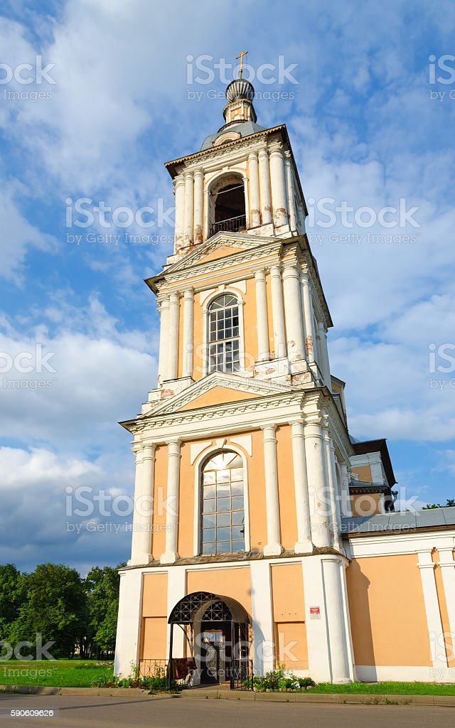 Church of Kazan Icon of Mother of God, Uglich, Russia stock photo