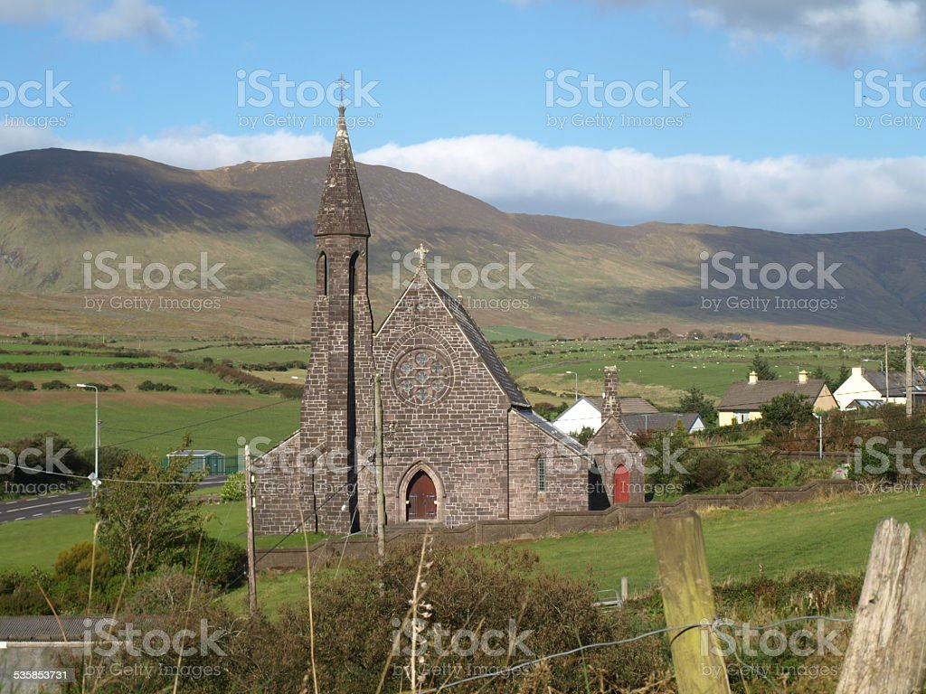 Church of Lispole royalty-free stock photo