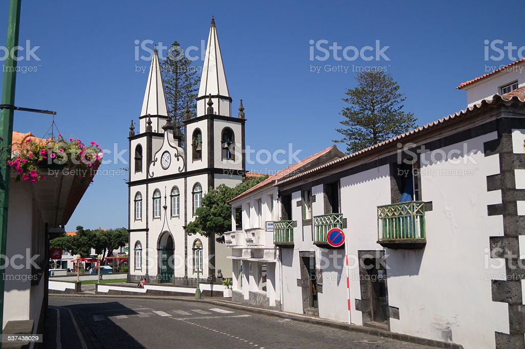 Church of Madalena stock photo
