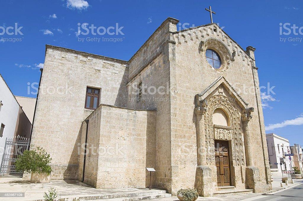 Church of Madonna della Strada. Taurisano. Puglia. Italy. royalty-free stock photo