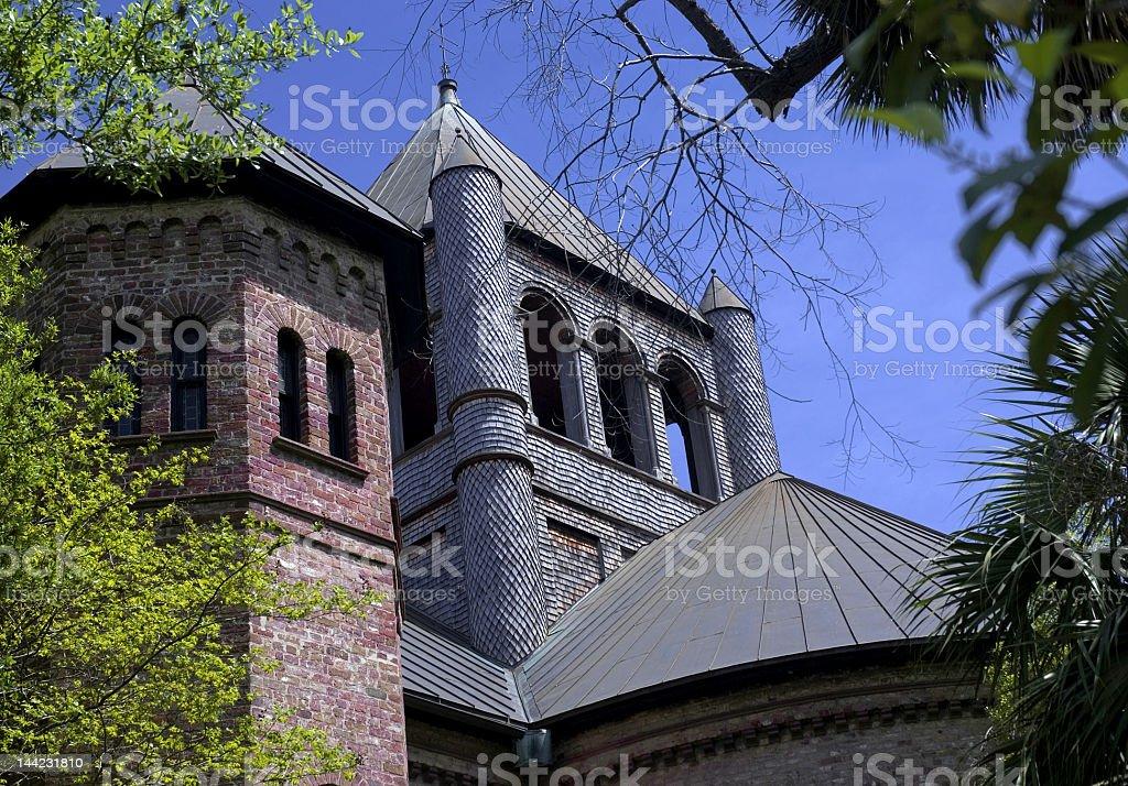Church of Many Shapes royalty-free stock photo