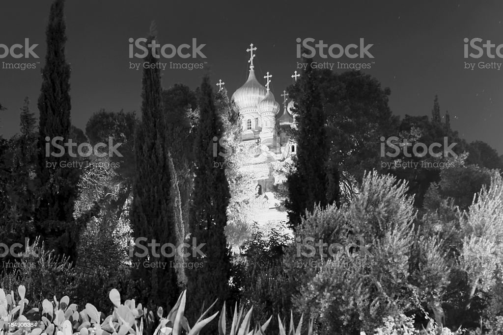 Church of Mary Magdalene, Jerusalem royalty-free stock photo