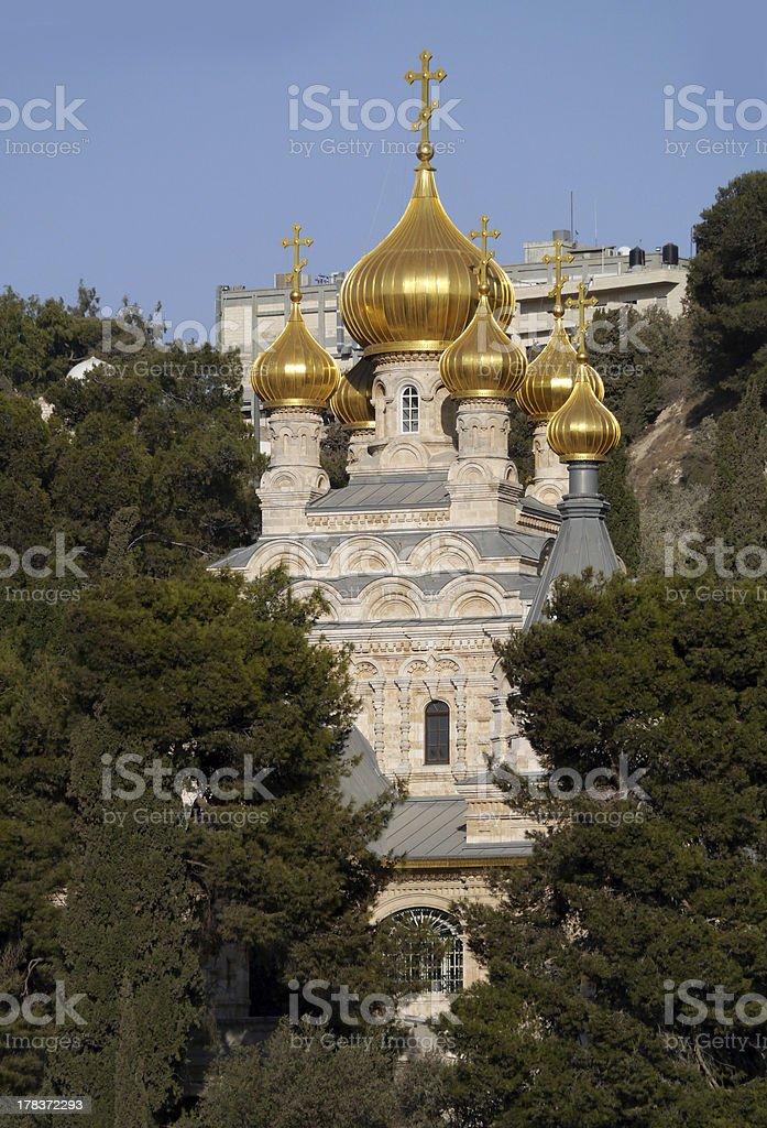 Church of Mary Magdalene royalty-free stock photo