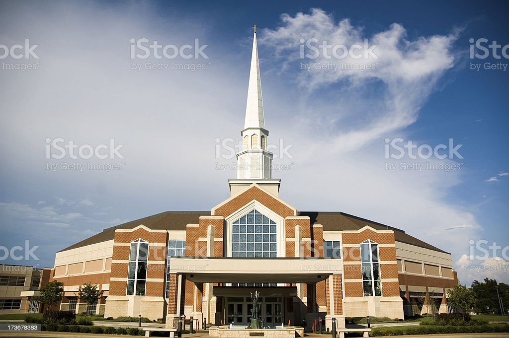 Church of Mega Proportions royalty-free stock photo