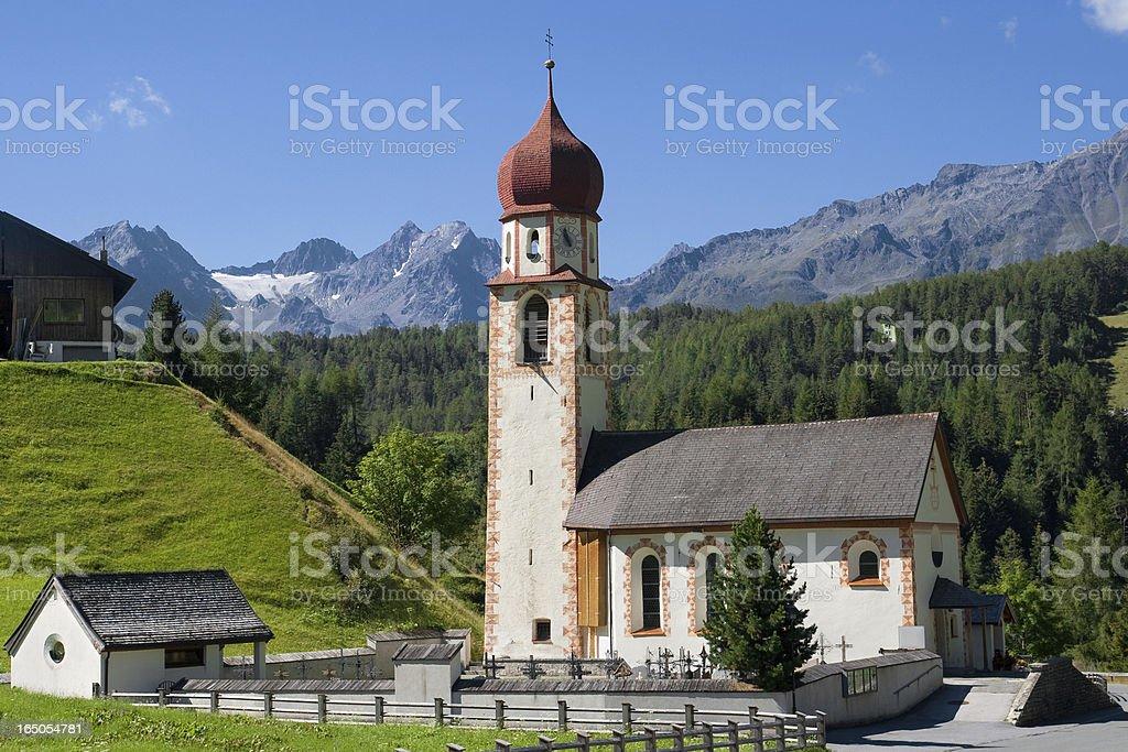 Church of Niederthai royalty-free stock photo