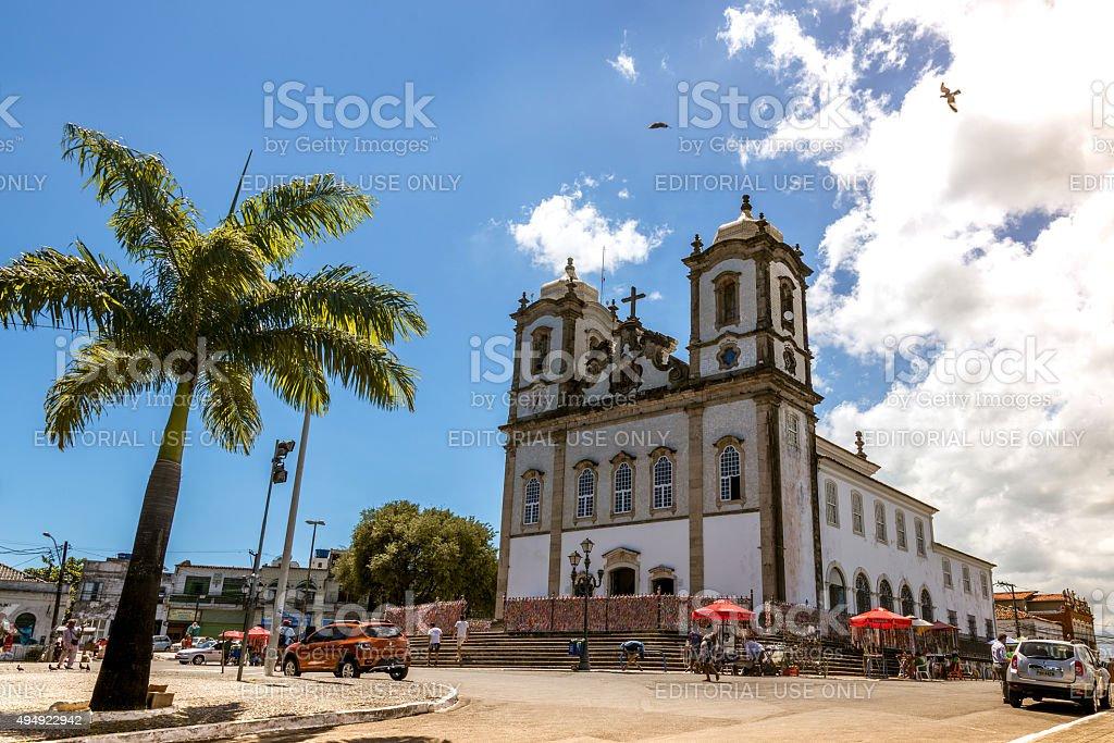 Church of Nosso Senhor do Bonfim in Salvador, Brazil stock photo