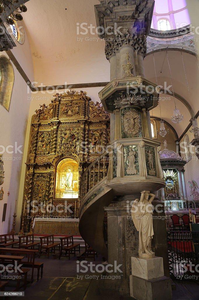 Iglesia de Nuestra Señora de la Concepción, La Orotava, Tenerife stock photo