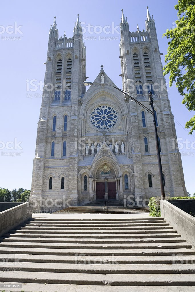 Church of our Lady stock photo