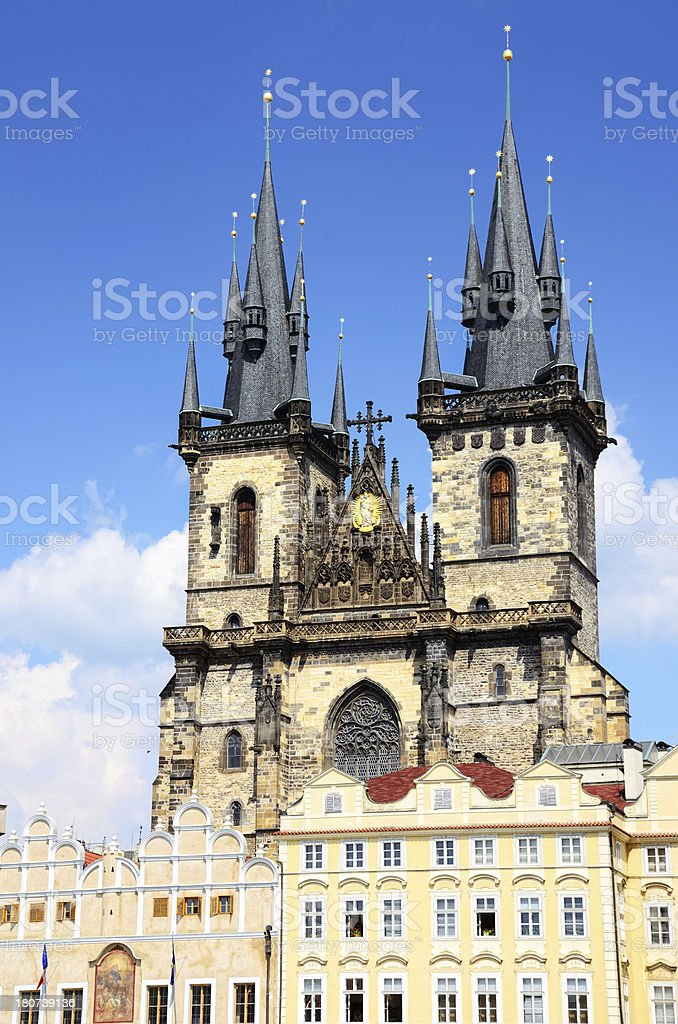 'Church of Our Lady, Prague' stock photo