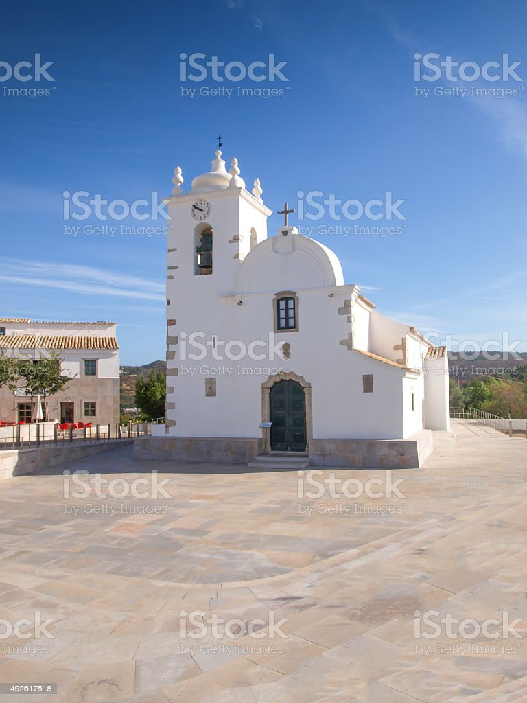 Church of Querenca royalty-free stock photo