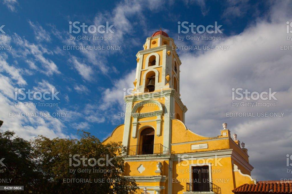 Church of Saint Francis of Assini stock photo